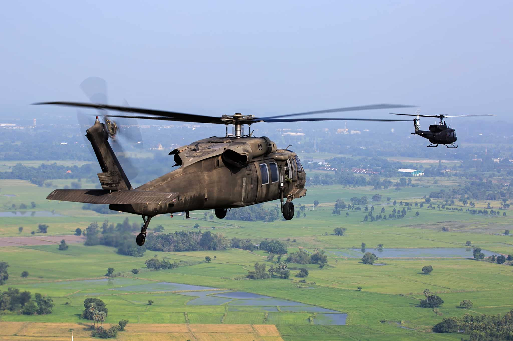 helicopter displays solutions