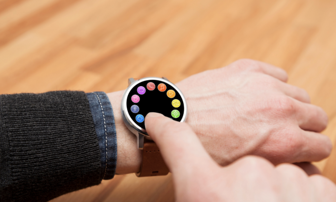 Smartwatch Touch Panel